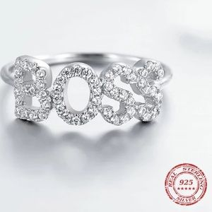 A New Sterling Silver BOSS Ring